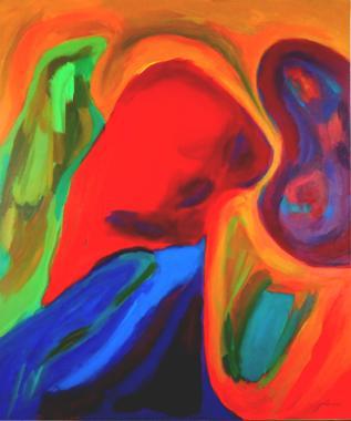Titel: Toewijding, Kunstenaar: Arati , Nicolas