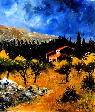 Titre: Provence 16, Artiste: Ledent, Pol