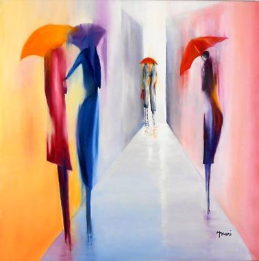Titel: L'impasse, Kunstenaar: Machri, Marie-Christine