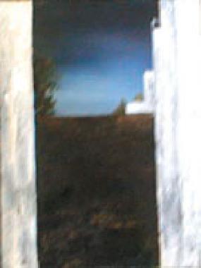Titel: Abstract landscape 8, Kunstenaar: Keuller, Olivier