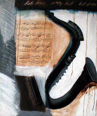 Titel: Hot Jazz (not in series2011), Kunstenaar: Johnson, Sandee Shaffer