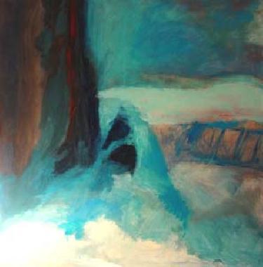 Titel: Falaises 1, Kunstenaar: Michel Tulkens