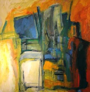 Titel: Quadrillage, Kunstenaar: Tulkens, Michel
