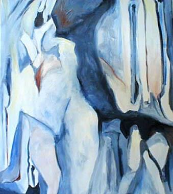 Titel: L'Oiseau de Glace, Kunstenaar: Marianne Doyers
