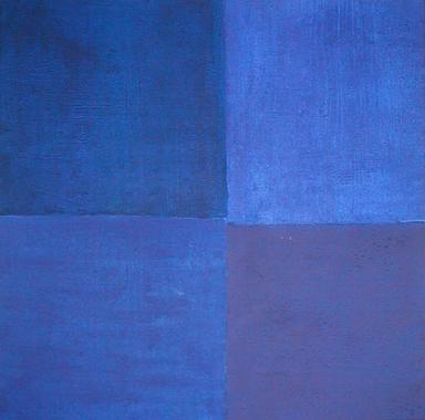 Titel: Study of summer 3, Kunstenaar: Marie-Chantal Trine
