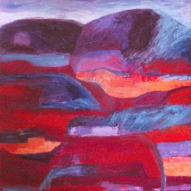 Titel: Desert Sunset 4, Kunstenaar: Johnson, Sandee Shaffer