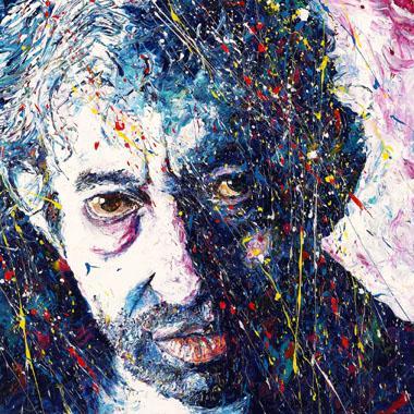 Titel: Serge Gainsbourg, Kunstenaar: Gilles Maes