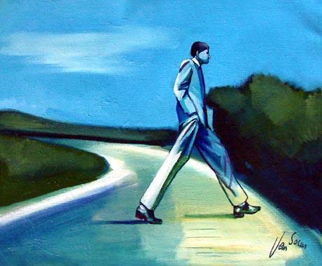 Titel: Le solitaire, Kunstenaar: Eric Van Soens