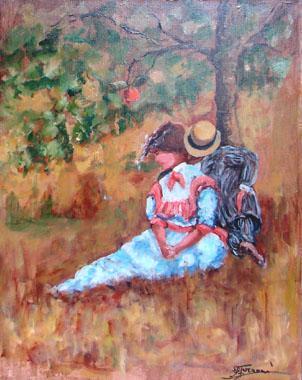 Titel: Le baiser (version 2), Kunstenaar: Gaston-Luciano FARAONI