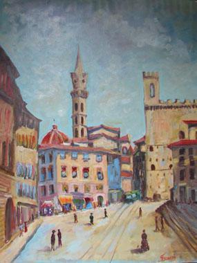 Titel: Il était une fois à Florence, Kunstenaar: Gaston-Luciano FARAONI