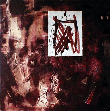 Titel: Calligraphie 7, Kunstenaar: Paul, Monique