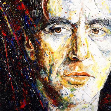Titel: Al Pacino, Kunstenaar: Gilles Maes