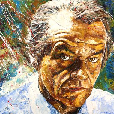 Titel: Jack Nicholson, Kunstenaar: Maes, Gilles