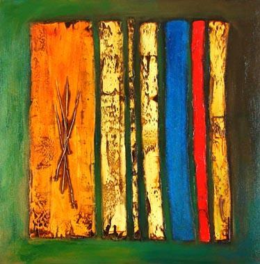 Titel: T�te d' acier 22, Kunstenaar: Quinot, Patrick