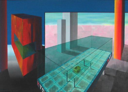 Titel: Widow crash, Kunstenaar: Guy Mangelschots