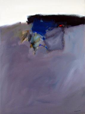 Titel: Le paysage calme, Kunstenaar: André Sprumont