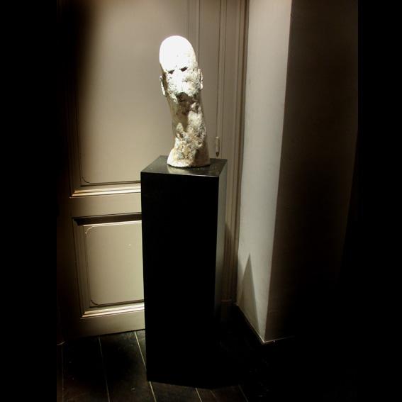 Titel: Tête blanche, Kunstenaar: Esther Liégeois